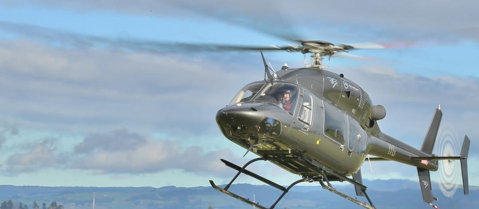 Corporate helicopter transfer to Auckland Airport