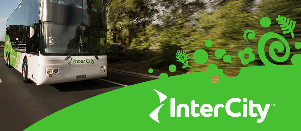 InterCity - New Zealand all over