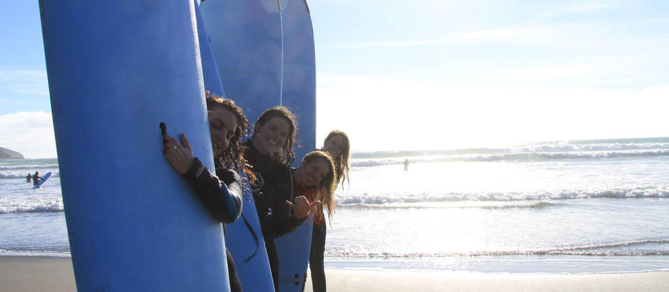 Having Fun Surf Session