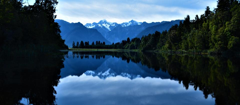 The Beautiful Lake Matheson