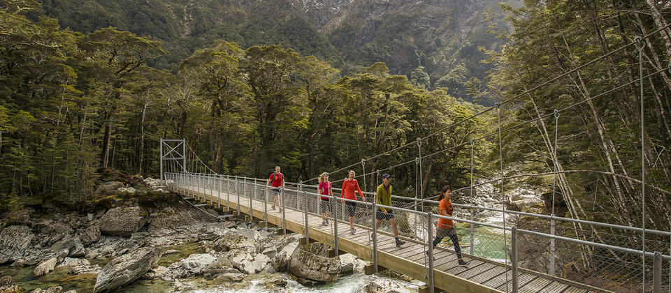 Routeburn Track guided day walk with Ultimate Hikes