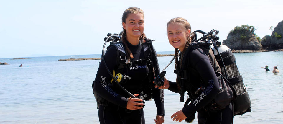 Experience SCUBA for the first time!