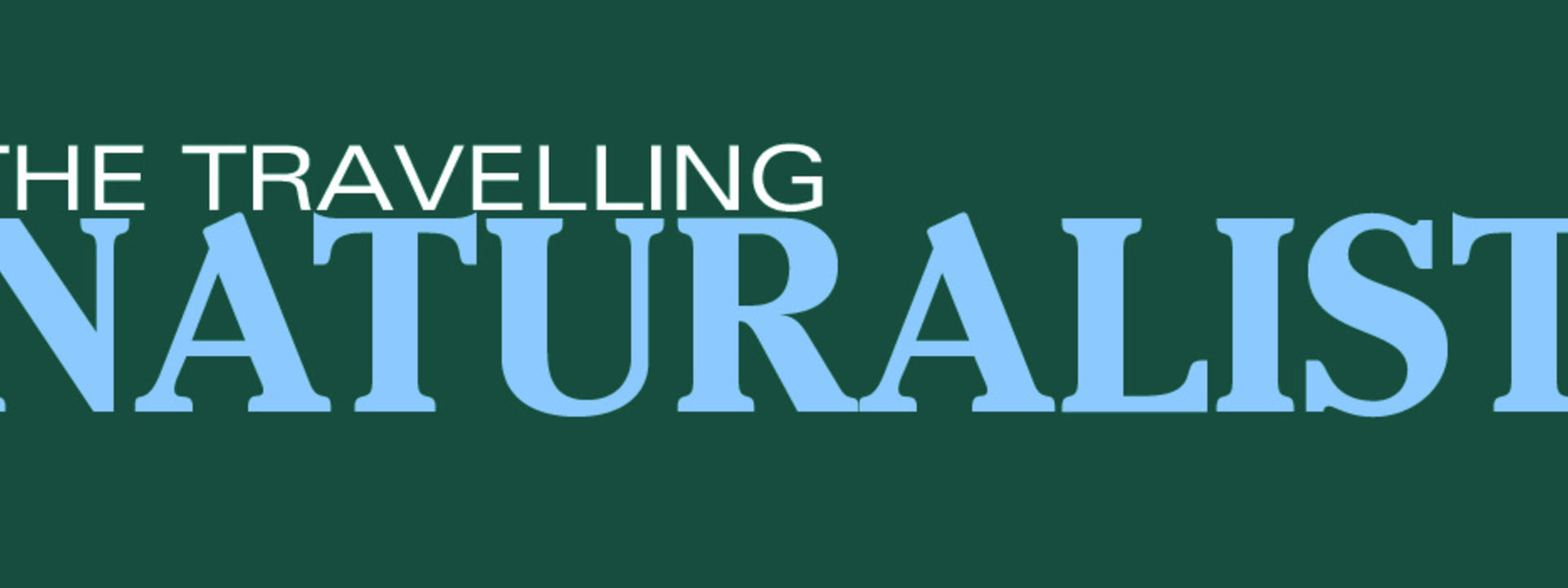 Logo: The Travelling Naturalist