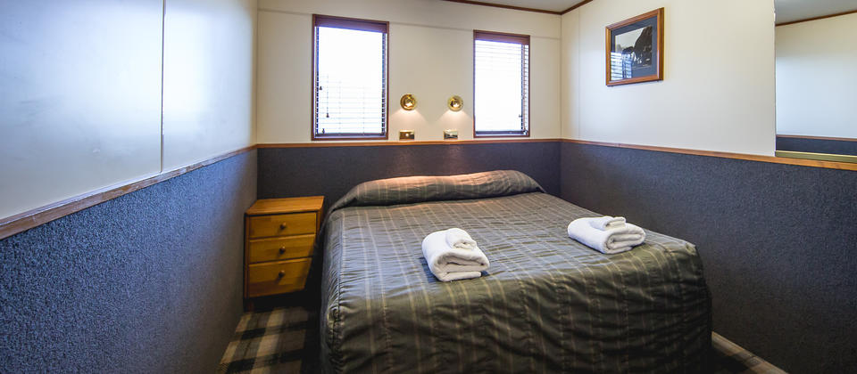 Milford Mariner Overnight Cruise - double cabin
