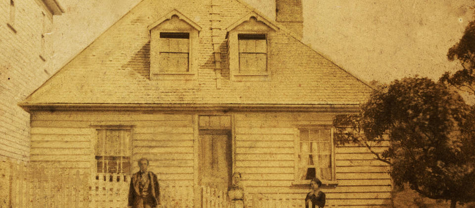 The Wallis Family and Nairn Street Cottage (1850s)