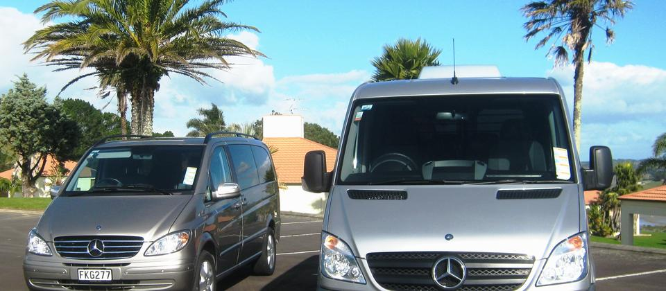 Mercedes Sprinter and Viano group touring vehicles