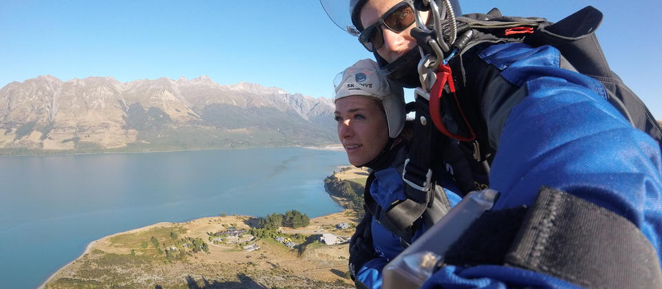 Parachute ride with Skydive Southern Alps, Queenstown