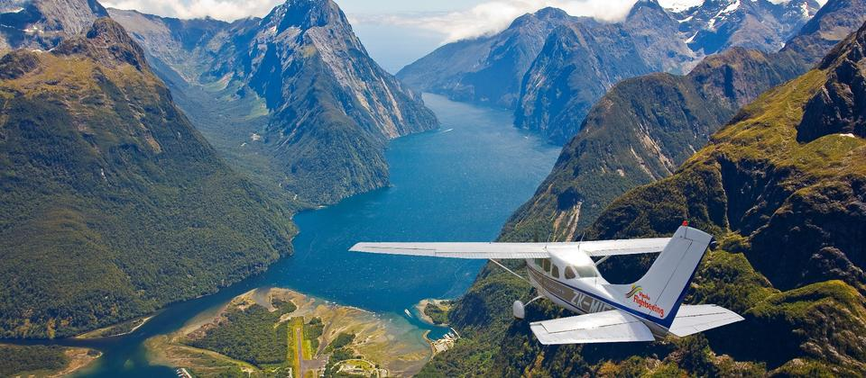 Approach to Milford Sound