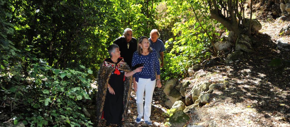 Walk with the Ancestors - visiting the ancestral village