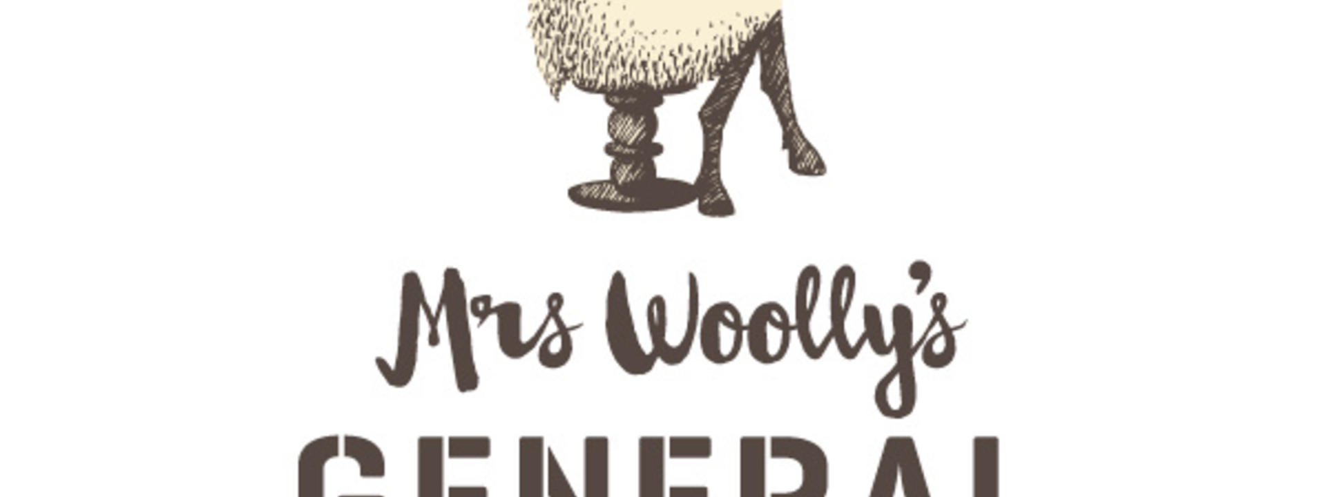 Logo: Mrs Woolly's General Store