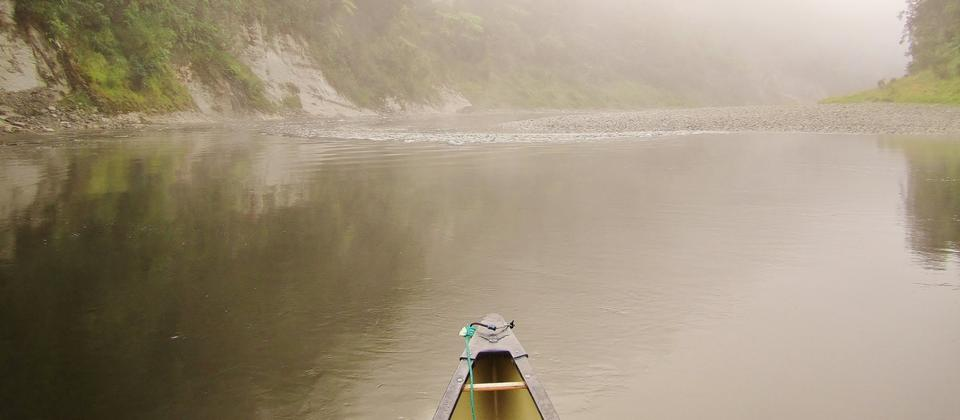 Peaceful morning on the Whanganui River