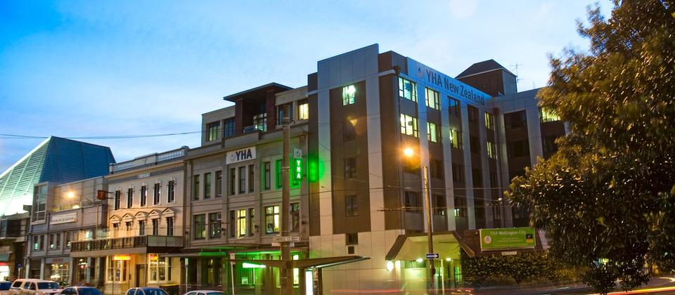YHA Wellington City is centrally located in the heart of Wellington.