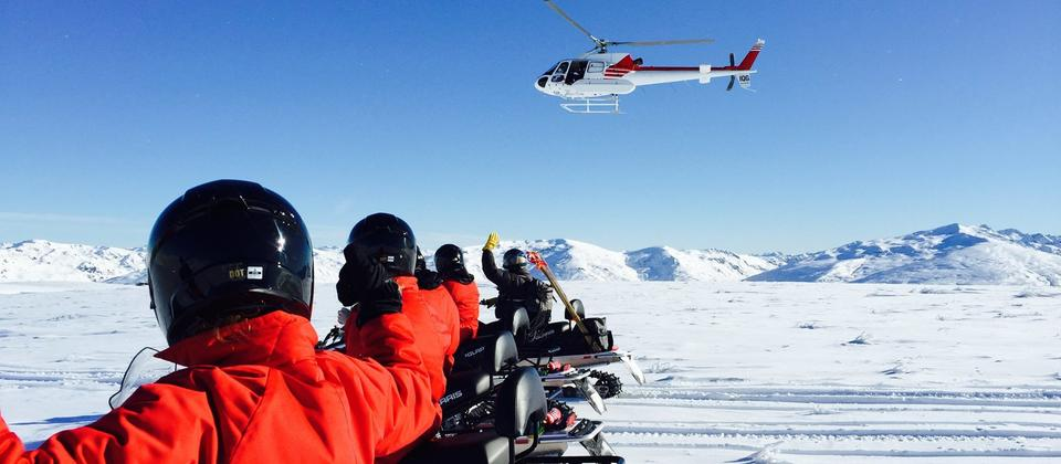 Come and experience Queenstown Snowmobiles, the ONLY snowmobile tour in NZ!