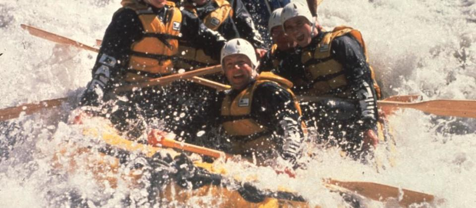 Rafting en Queenstown