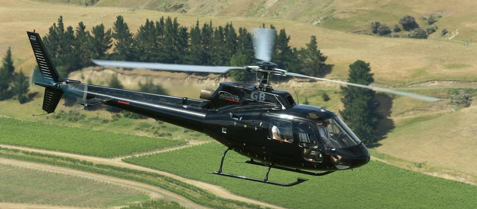 Experience New Zealand's leading wine regions with scenic flights