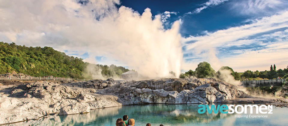 Witness Rotorua's incredible geothermic activity at Te Puia