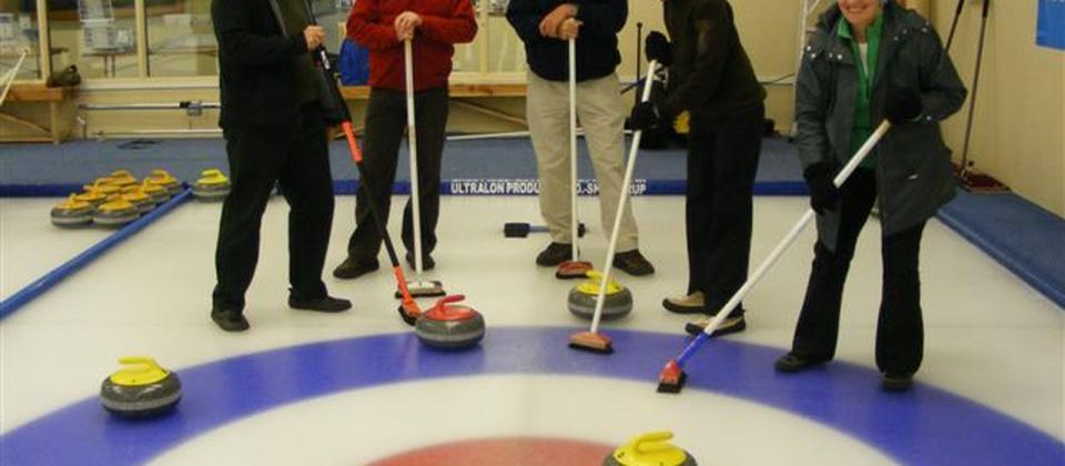 Curling at Naseby