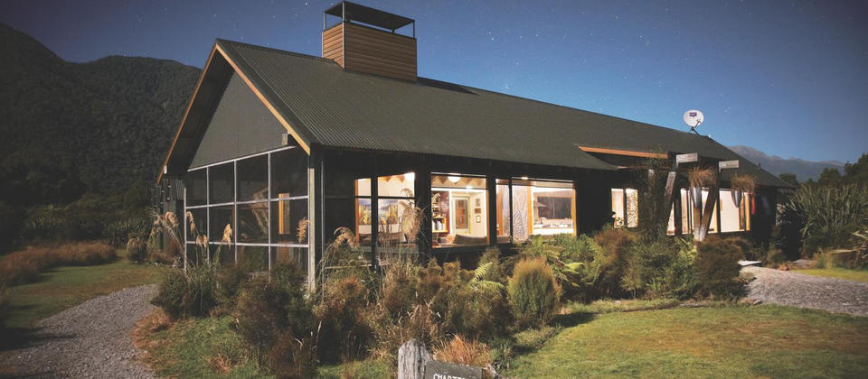 Hollyford  Lodge Martins Bay at Night.jpg