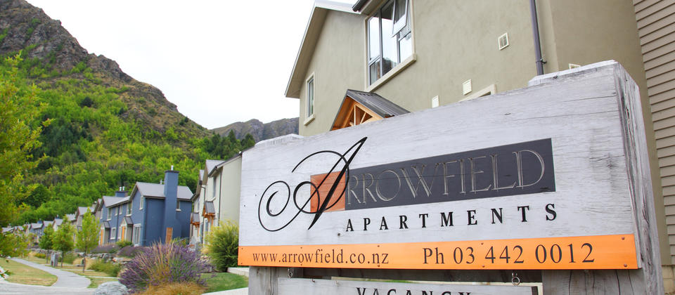 Arrowfield Sign