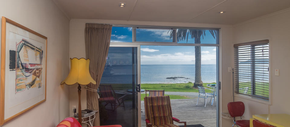 View to Cable Bay from the Phoenix Red Apartment