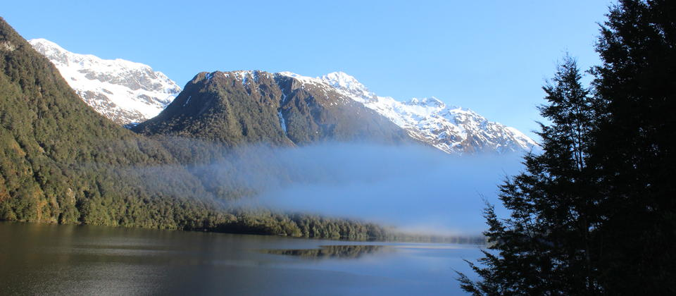 On our way to Milford Sound