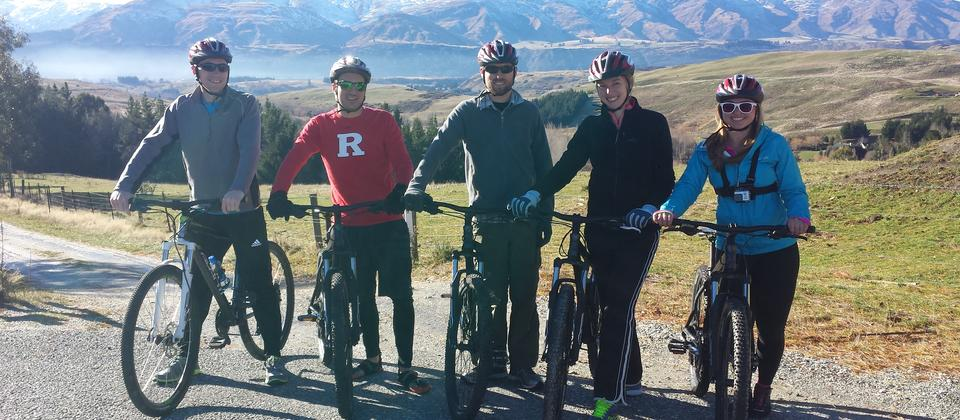 Mountain bikes suitable for the Queenstown Trails