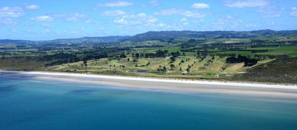 Aerial View of Waipu Golf Course