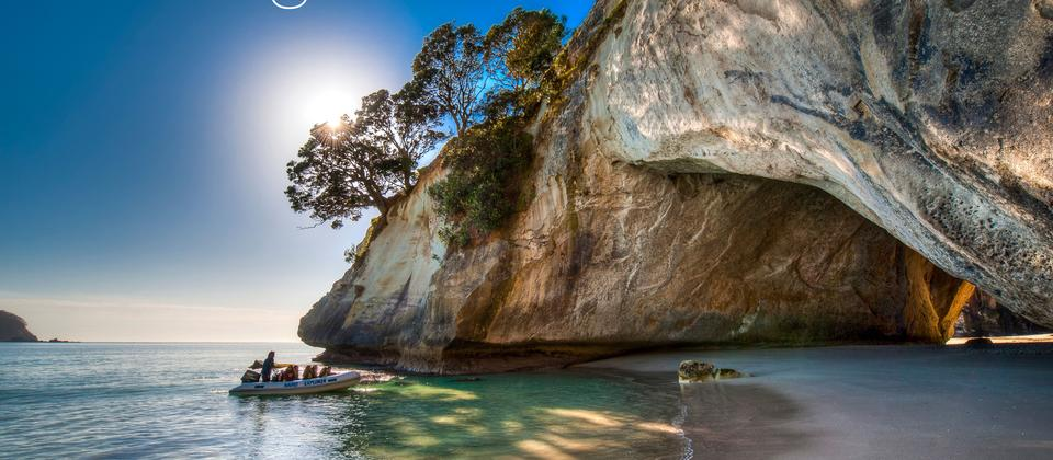 Discover Cathedral Cove with DialAFlight