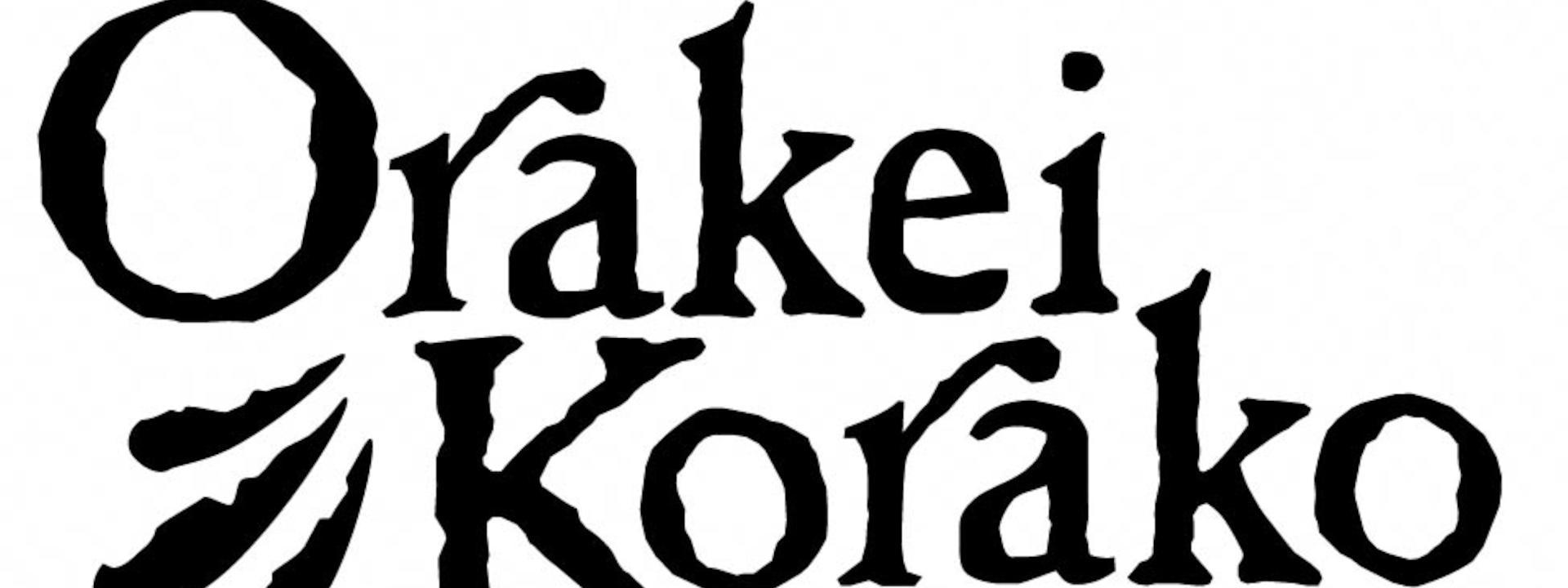 Oraki Korako Logo Black on White