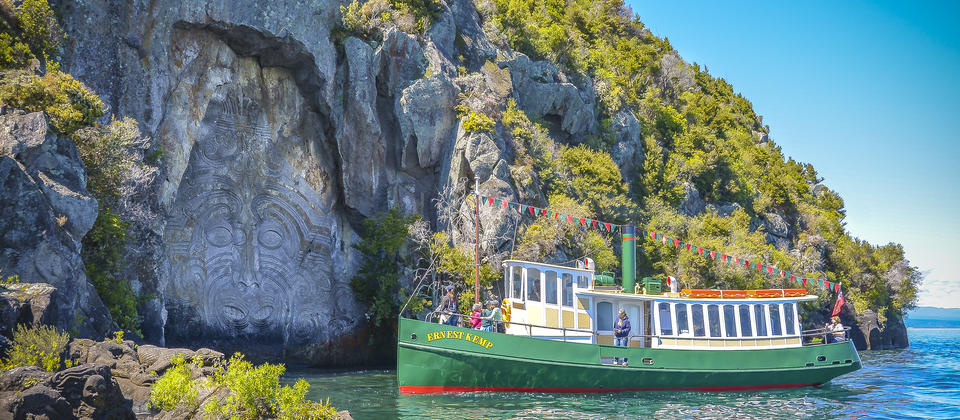 Ernest Kemp, iconic replica steamboat.