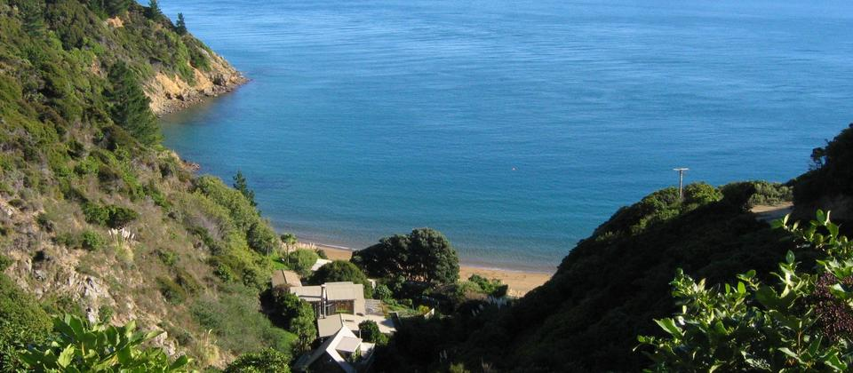 Ngaio Bay from Seabreeze Cottage