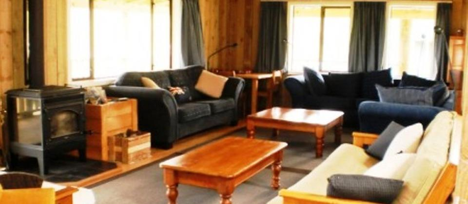 Retreat Lounge area - comfortable accommodation