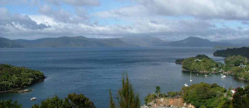 Paterson Inlet from Observation Rock