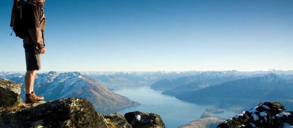 Hiking in Queenstown