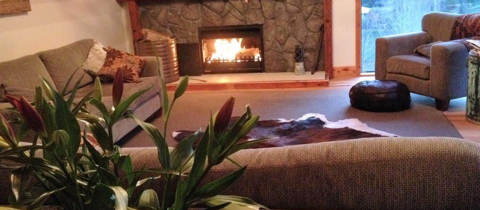 Relax in front of the fire