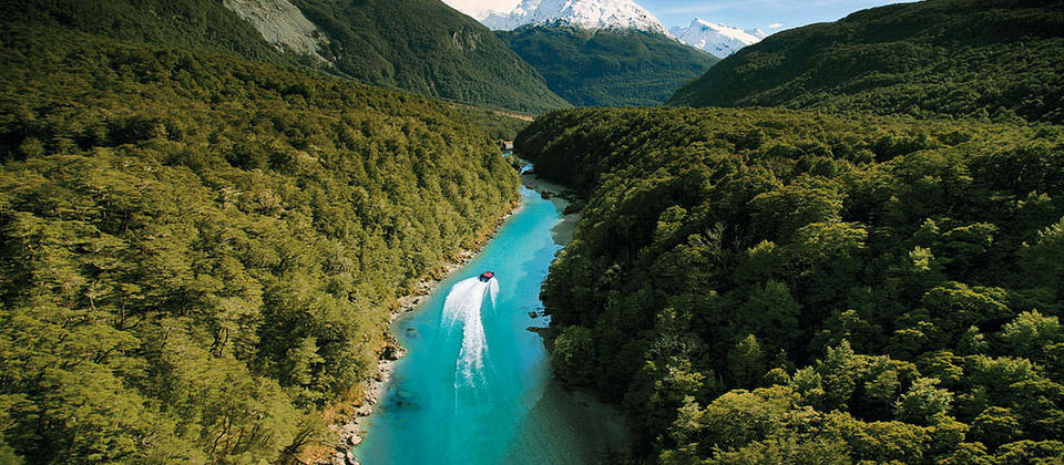 Jet Boat Deep Into The Mt Aspiring National Park World Heritage Area