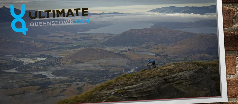 Mountain Biking at Coronet Peak, Queenstown