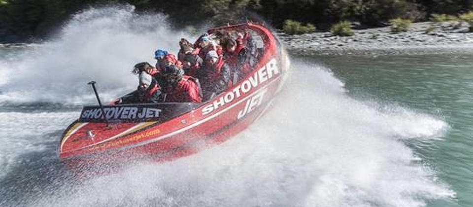 360° Spin through the Shotover River Canyons