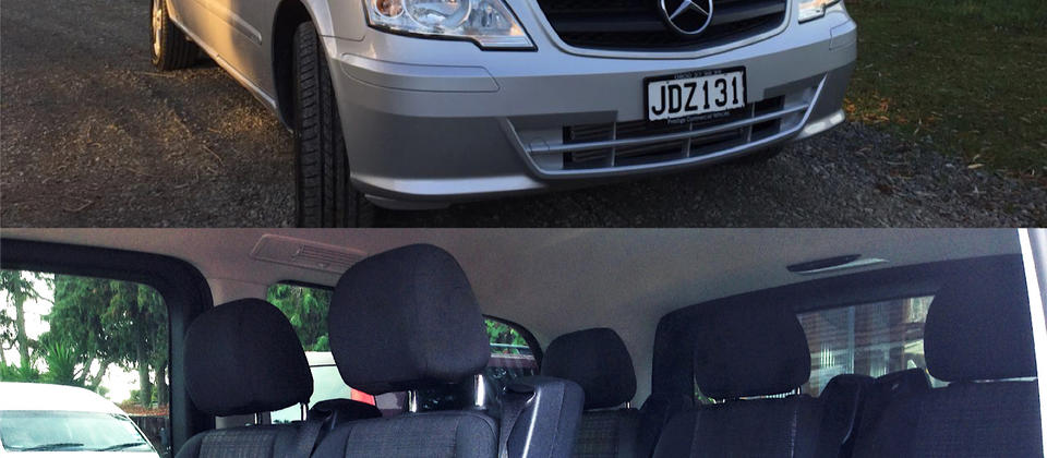 7-seater Mercedes Benz Vito