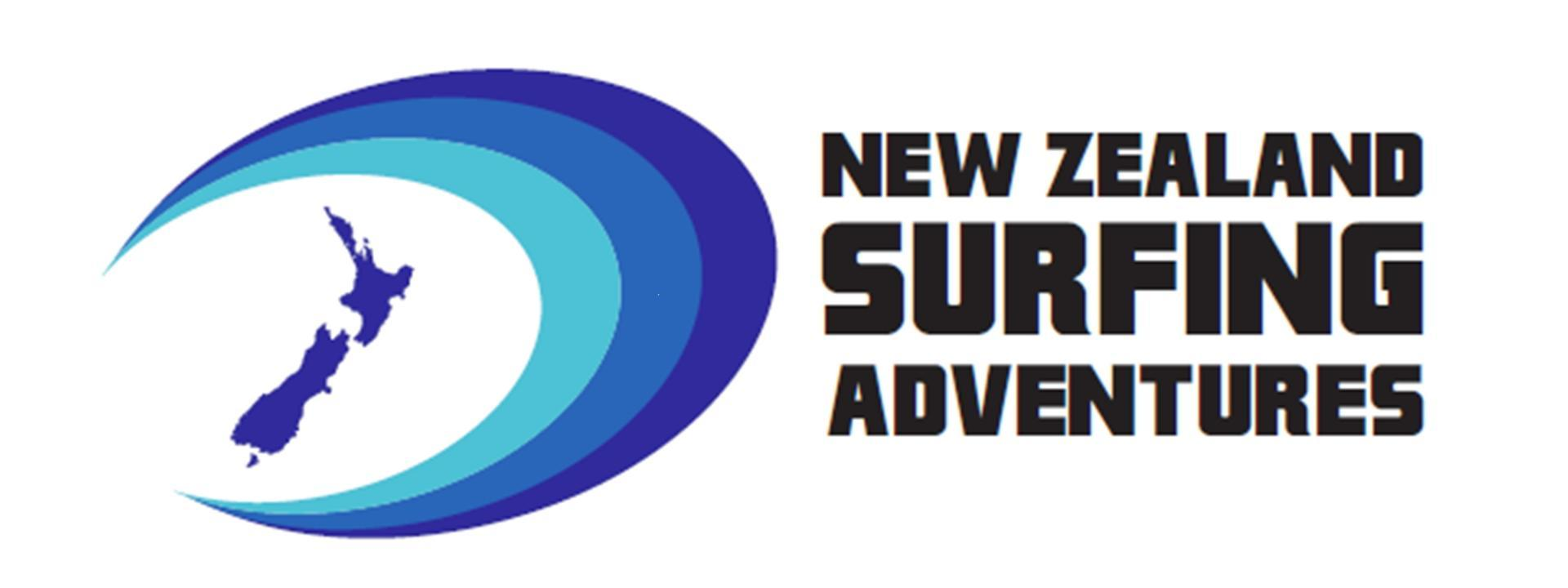 Logo: New Zealand surfing adventures