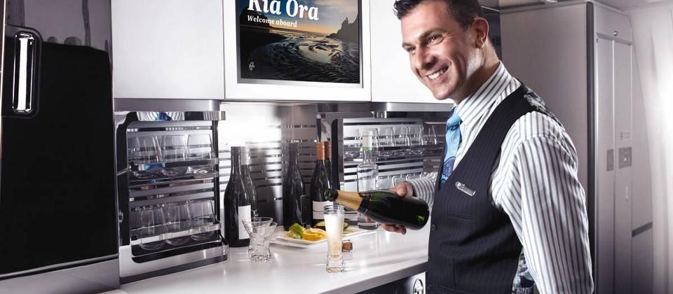 Service on Air New Zealand