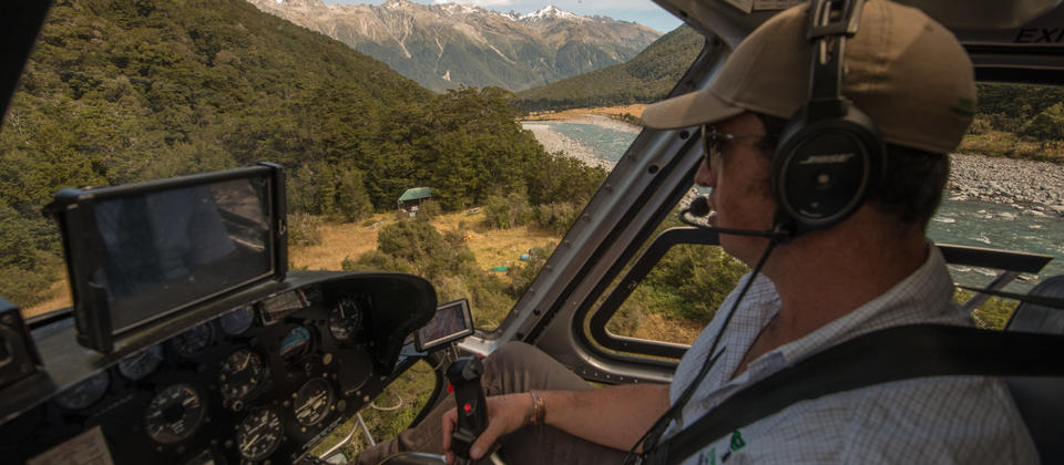 Helicopter - The Landsborough Wilderness Experience