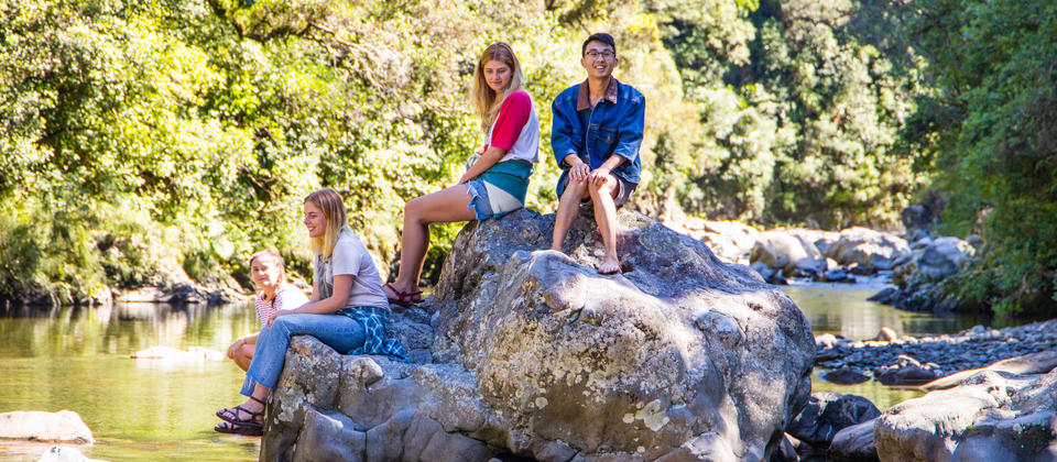 Enjoy the serenity of the Kaitoke Regional Park.