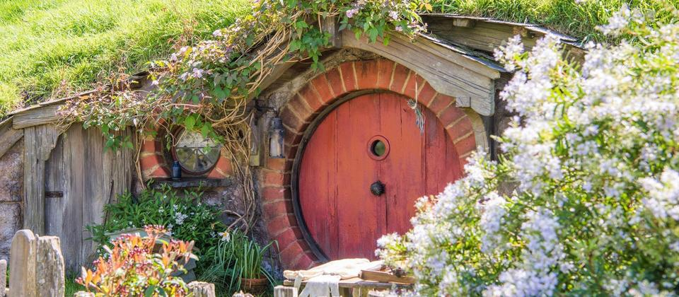 A view of Hobbiton™ Movie Set