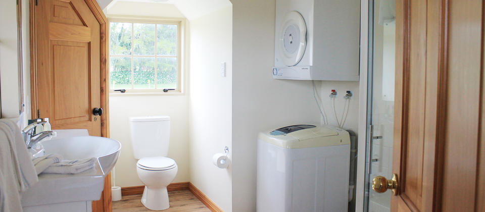 Ensuite Bathroom and Laundry