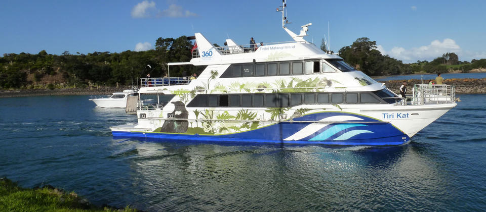 Off to Tiritiri Matangi Island on a beautiful summers day