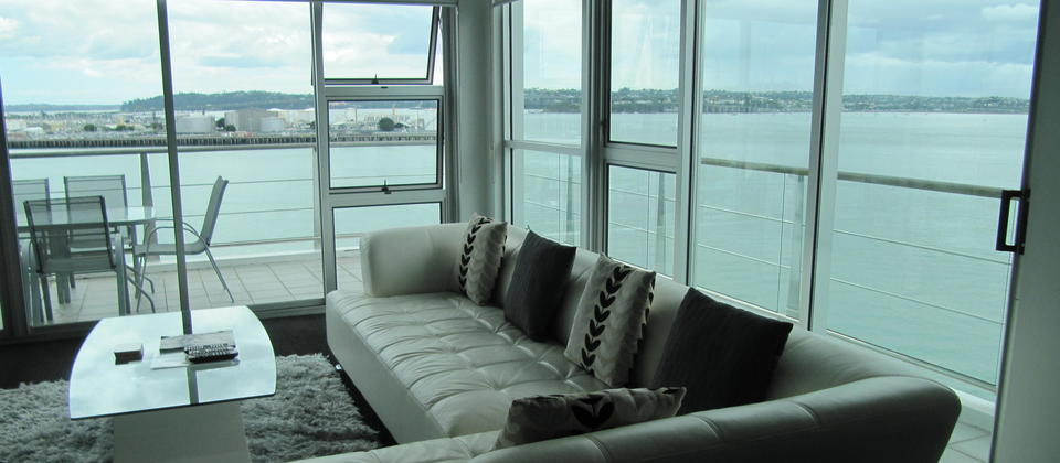 View from one of the harbourside 3 bedroom luxury apartments.