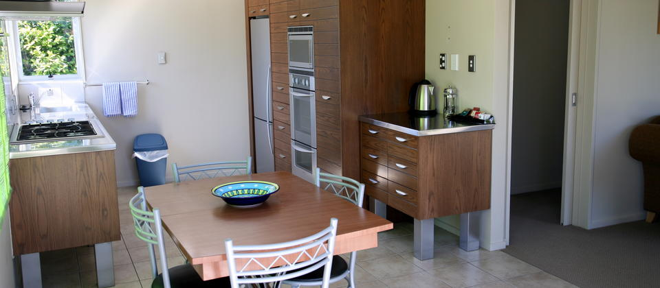 The Kitchen, The Villa at Edgewater Motel Te Anau