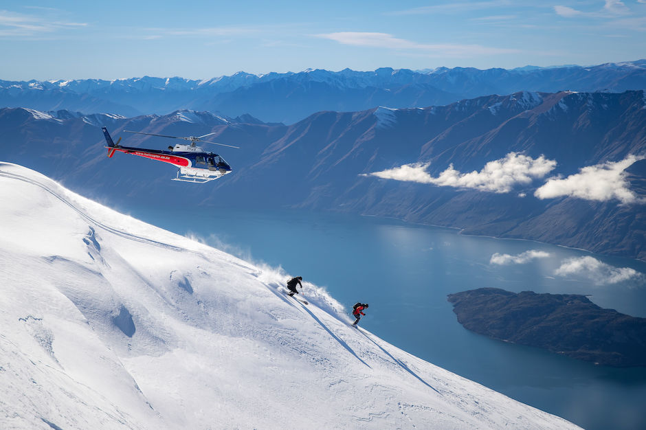 Heli Skiing Southern Alps