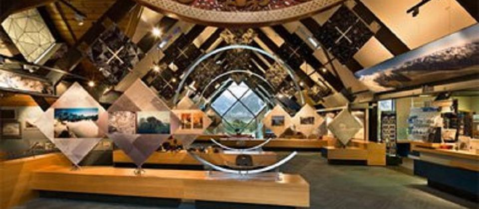 Inside DOC Aoraki / Mount Cook Visitor Centre